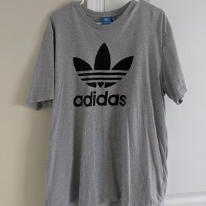Grey Adidas t-shirt